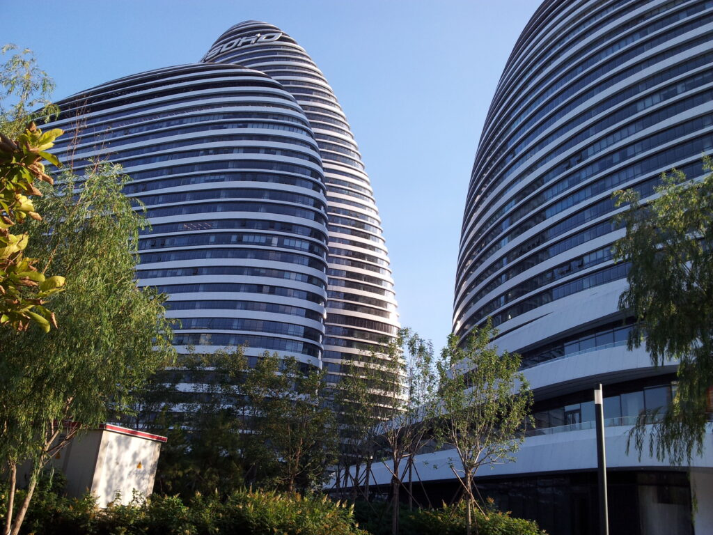 Büro- und Shopping-Komplex Wangjing SOHO