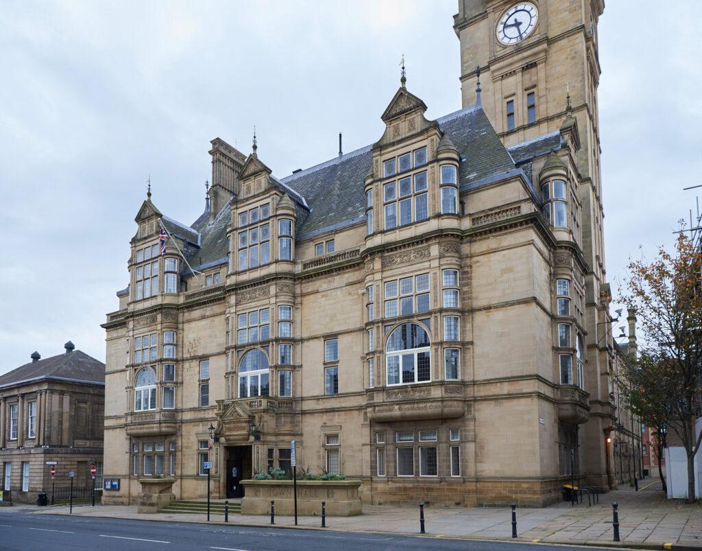 Das Rathaus von Wakefield