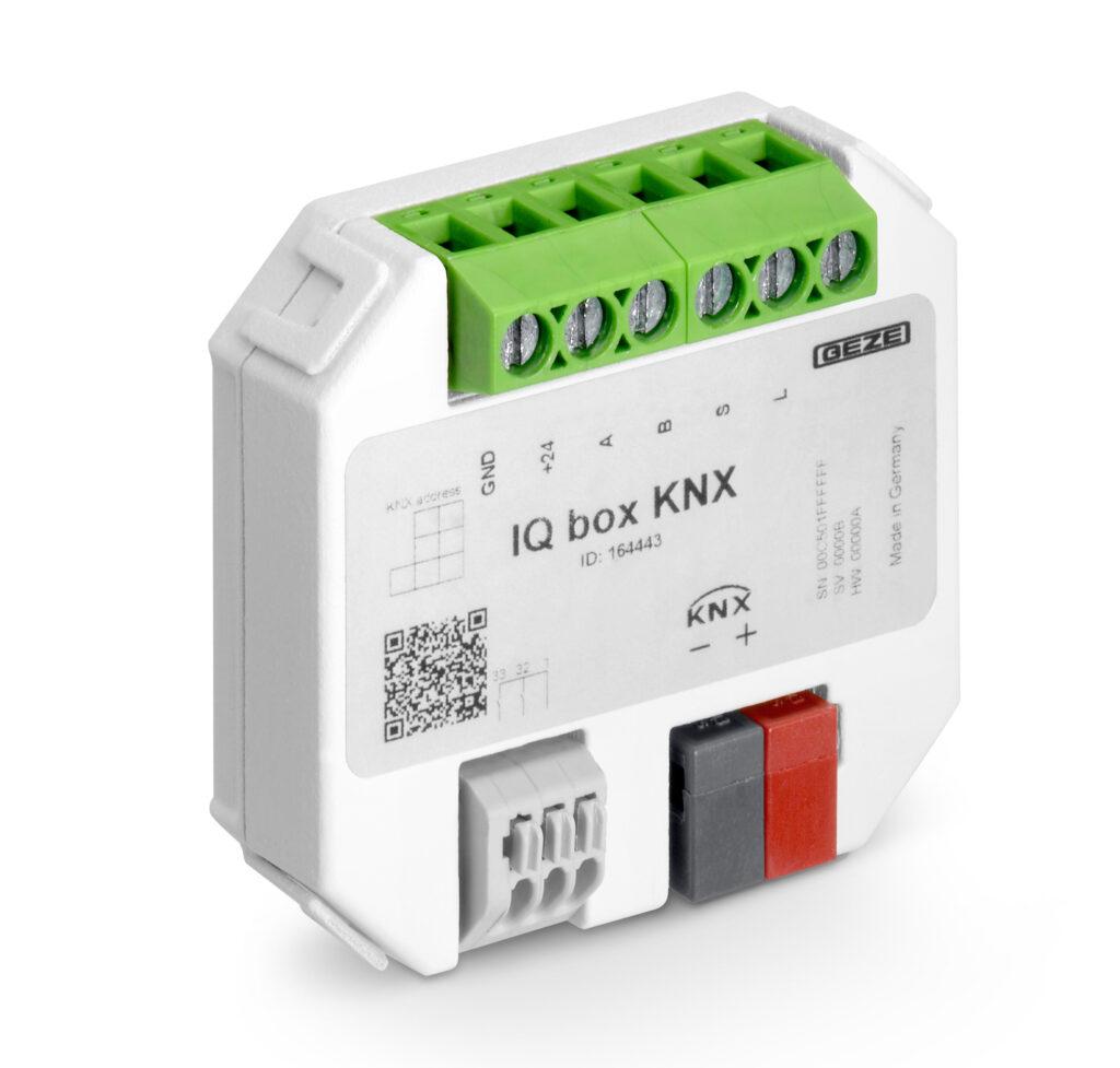 Schnittstellenmodule IQ box KNX