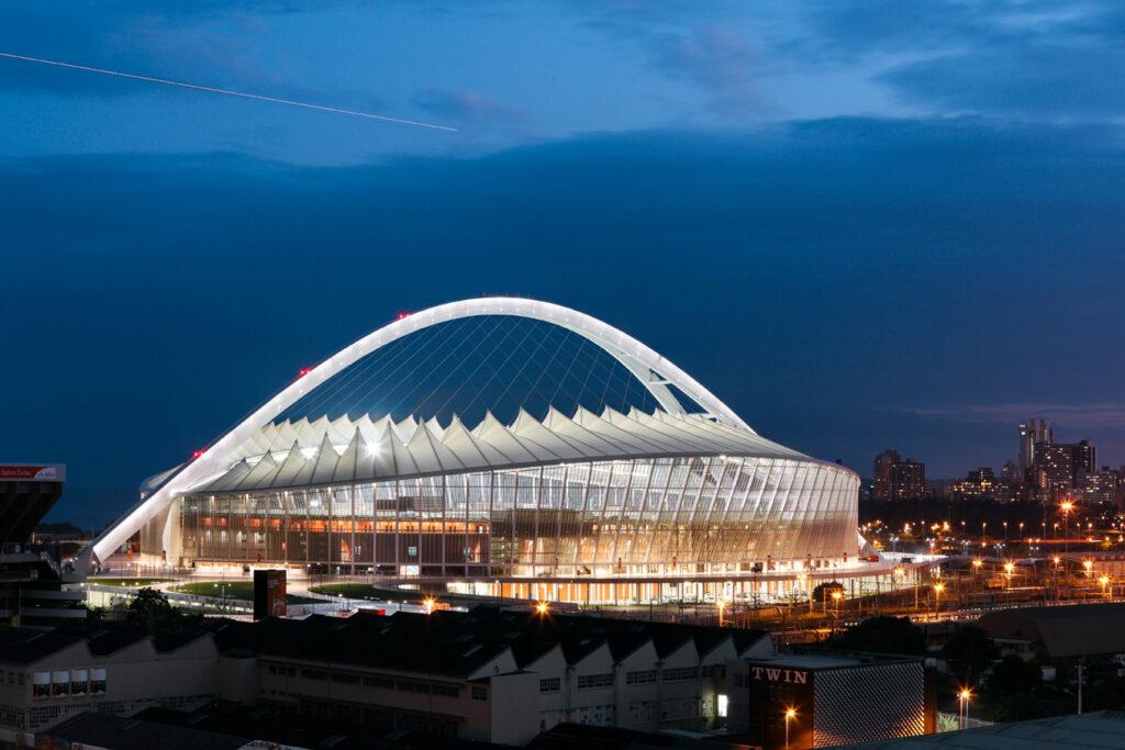 Projekt: Moses-Mabhida-Stadion in Durban, Büro: gmp von Gerkan, Marg und Partner