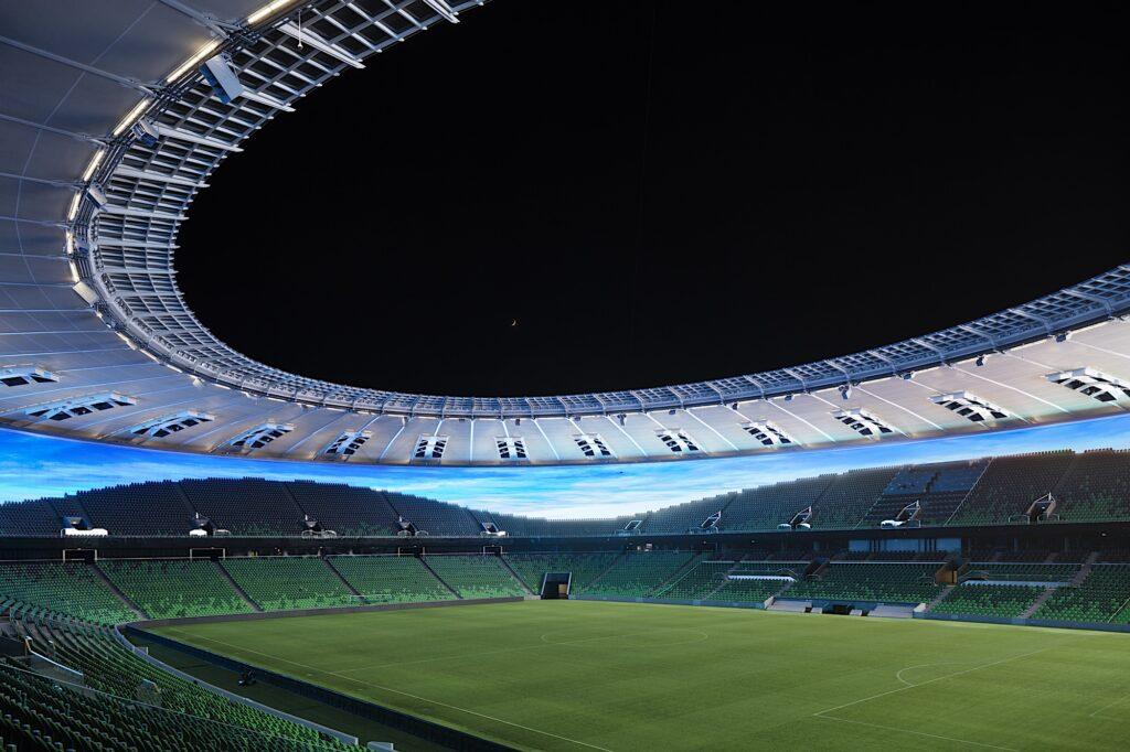 Stadion Krasnodar, Russland