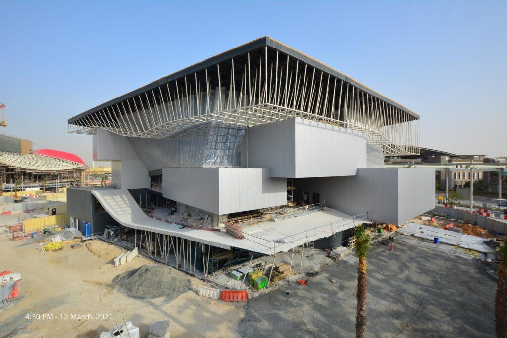 Der deutsche Pavillon 'Campus Germany' für die EXPO 2020 (+1) in Dubai