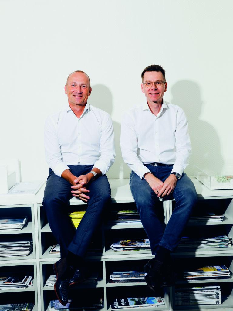 Heinz-Georg Guth und Thomas Höxtermann, die Inhaber.