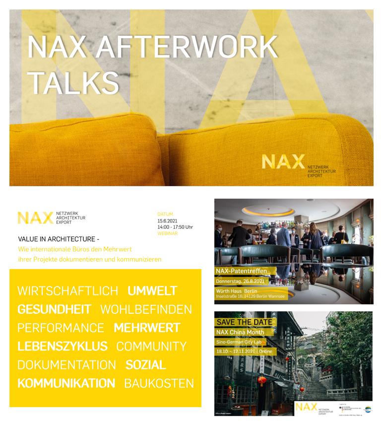 NAX-Veranstaltungen