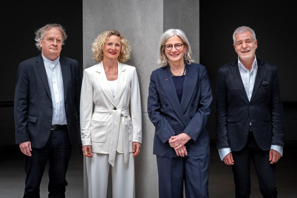 Das neue BAK-Präsidium v.l.n.r. Martin Müller, Evelin Lux, Andrea Gebhard, Prof. Ralf Niebergall