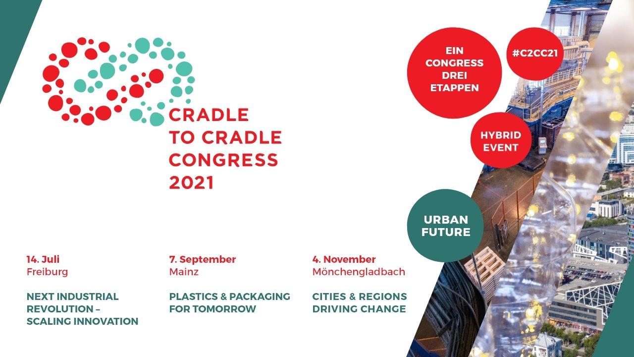 17.9. + 4.11.2021 |  Internationaler Cradle to Cradle Congress 2021