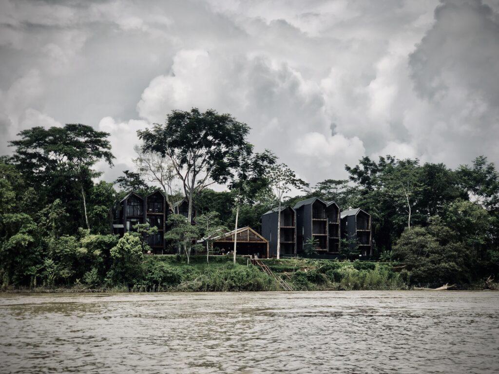 HOTEL ENAI, Boutique Hotel in Tambopata, Amazonas, Peru ©Jasper Architects
