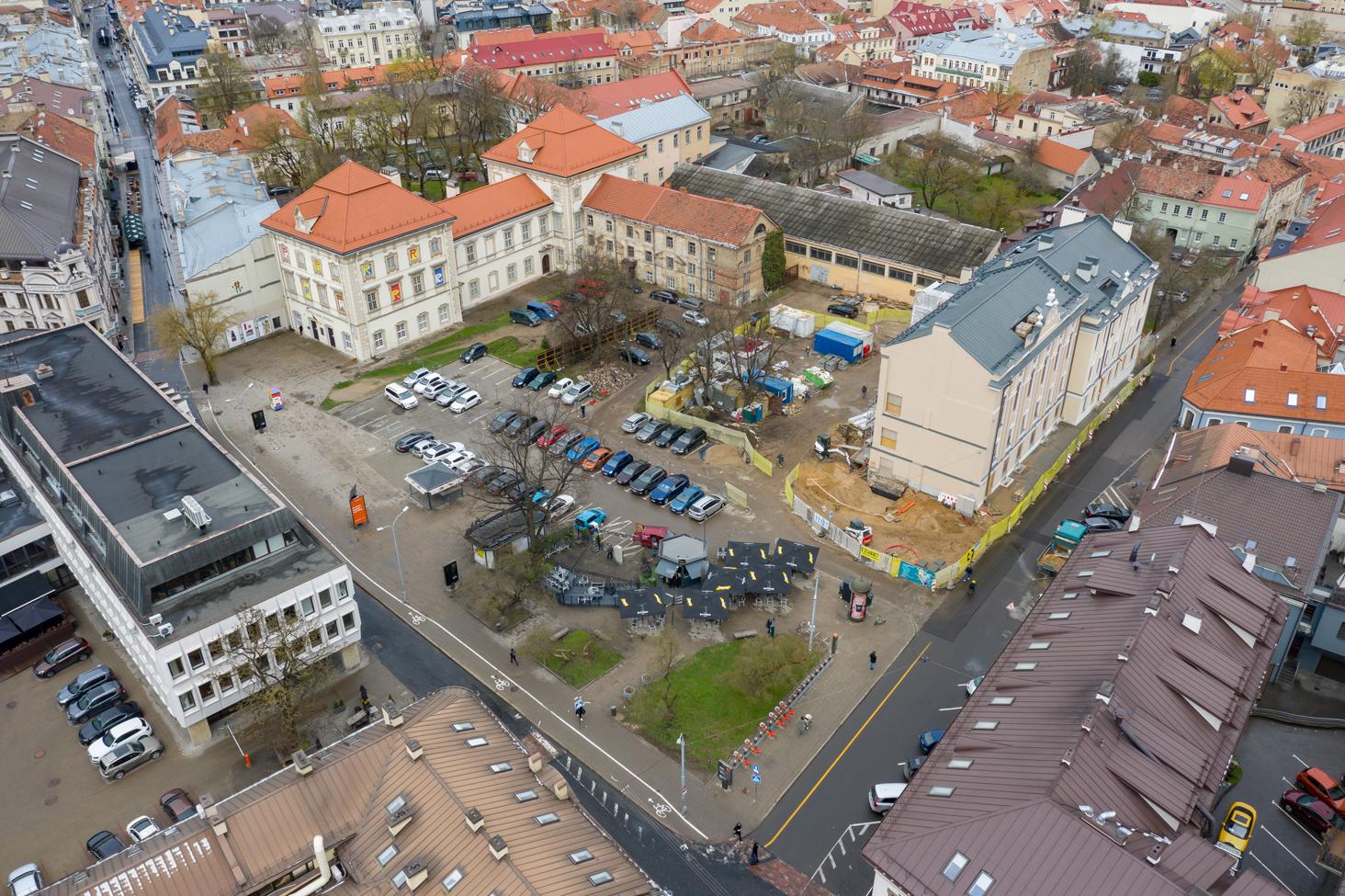 Internationaler Wettbewerb für den Umbau des Jonušas Radvila Palastes in ein Museum