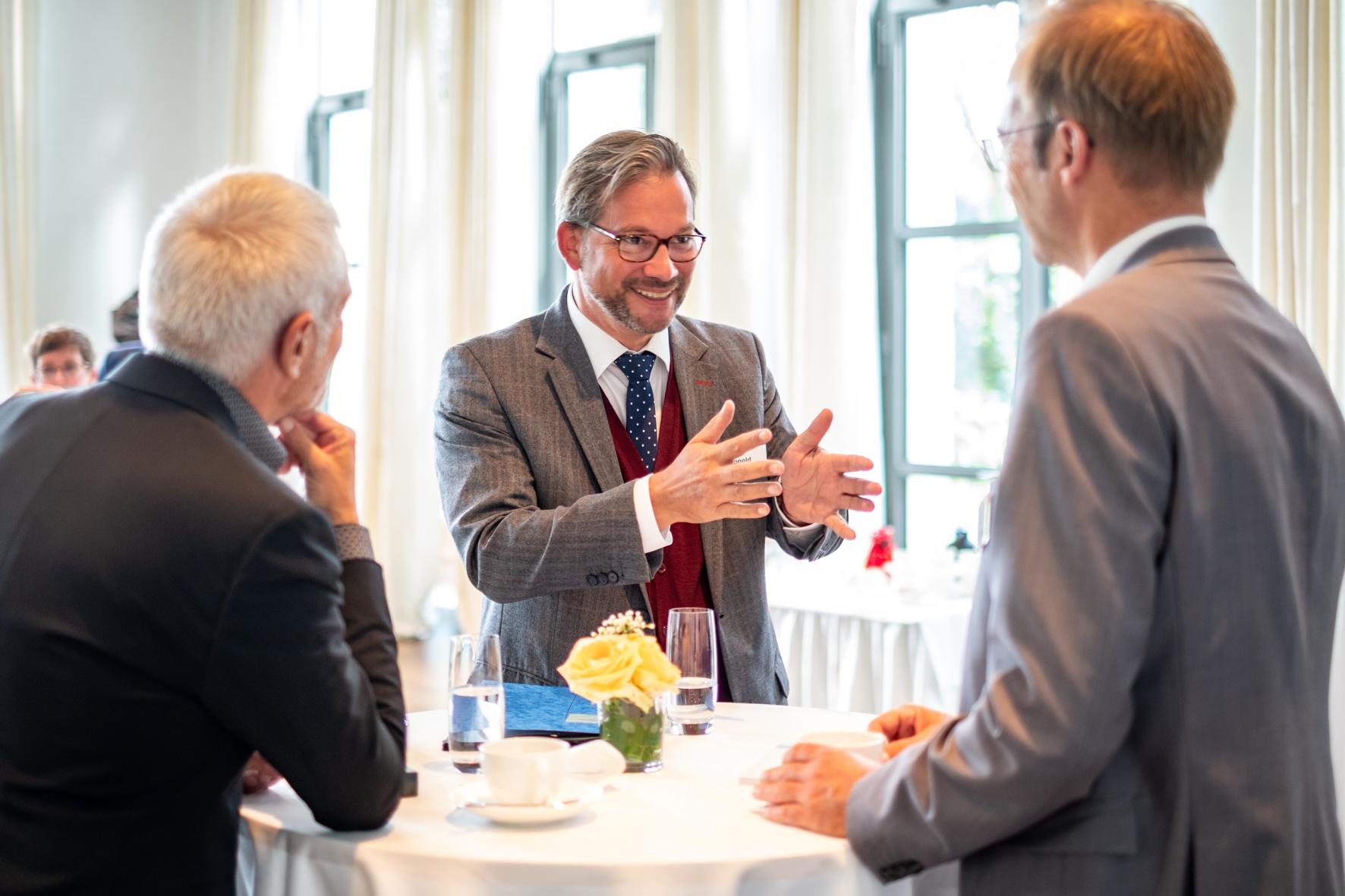Florian Pronold, Parlamentarischen Staatssekretär im Bundesministerium für Umwelt, Naturschutz, Bau und Reaktorsicherheit (BMU) beim NAX-Patentreffen 2021 ©Till Budde