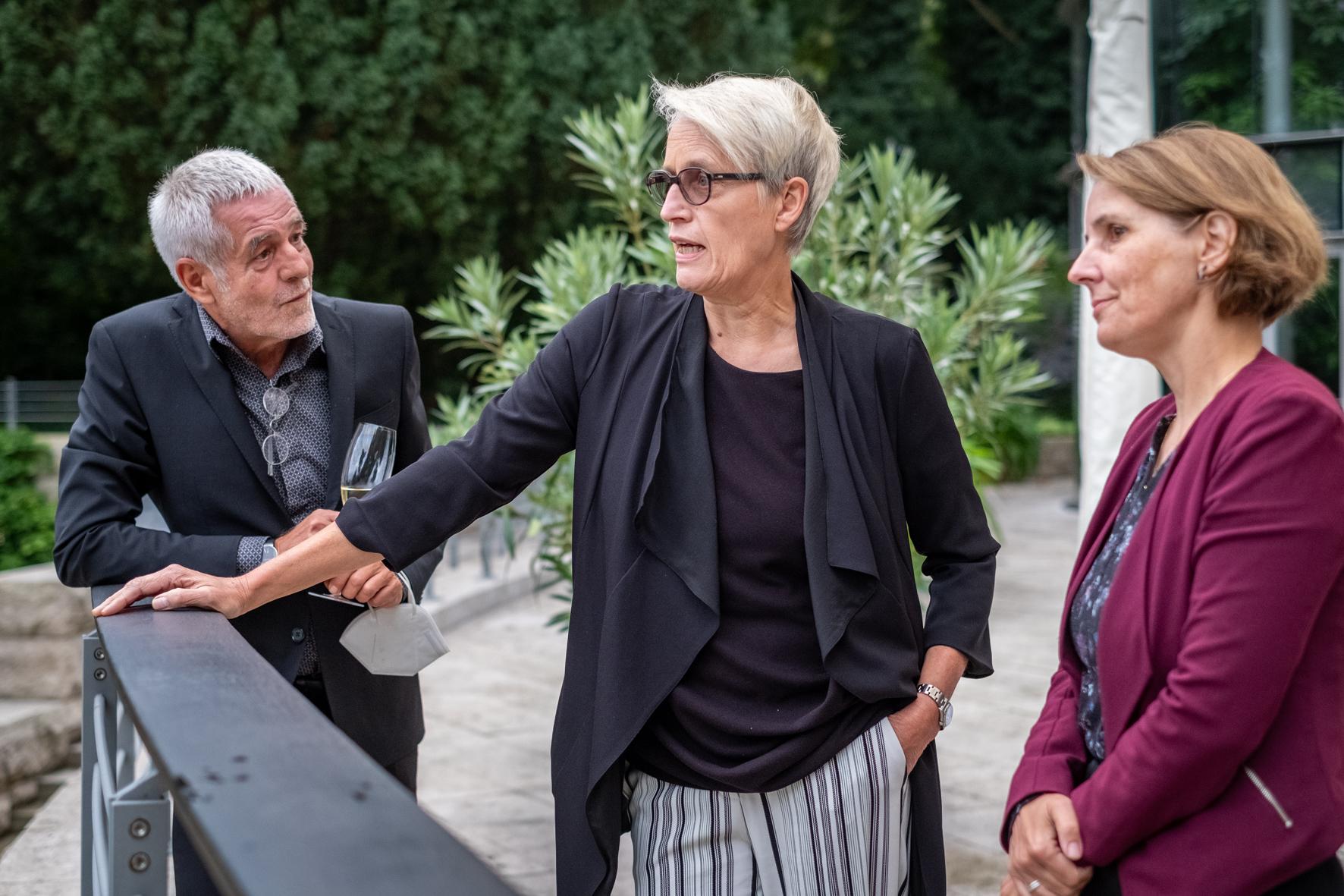 Anne Katrin Bohle, Staatssekretärin im Bundesministerium des Innern, für Bau und Heimat (BMI) beim NAX-Patentreffen 2021 ©Till Budde