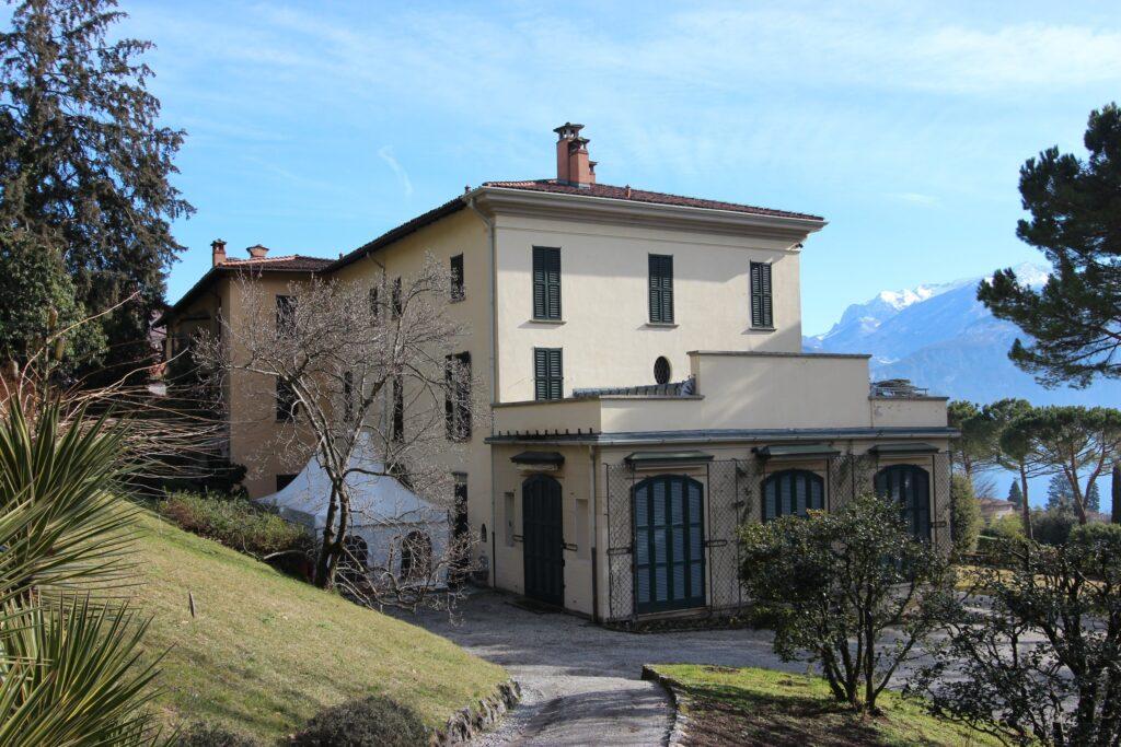 Menaggio, Villa Vigoni, Blick Richtung Comer See