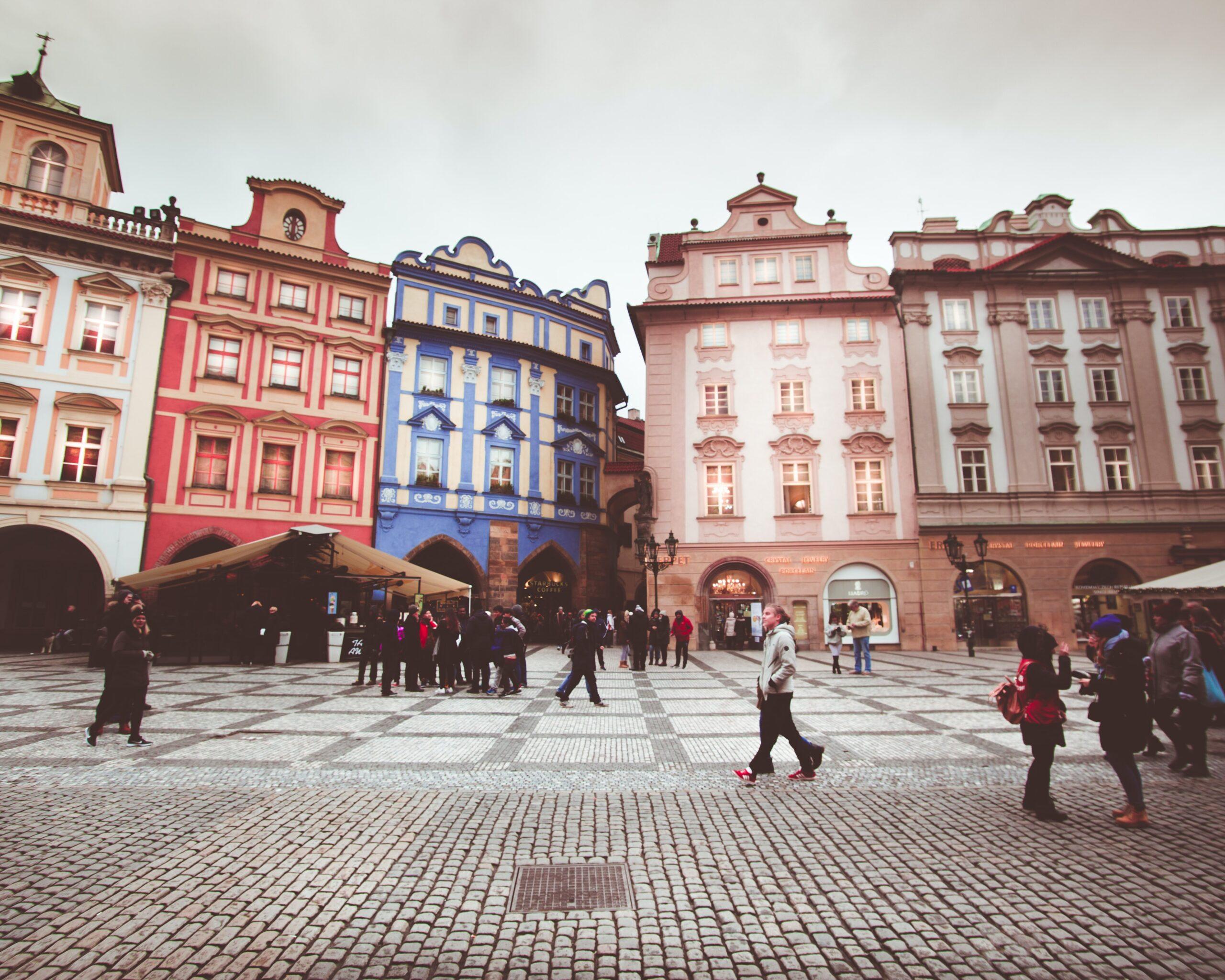 Internationaler Wettbewerb: Prague Market Interspaces